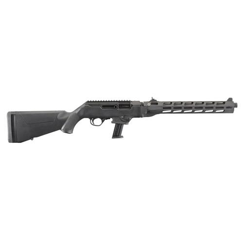 "Ruger PC Carbine M-Lok 9mm 16"" Threaded Barrel M-Lok Handguard 17 Rd Mag"