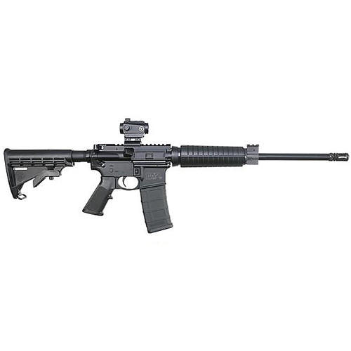 """Smith & Wesson M&P15 Sport II OR CTS-103 Red Dot 5.56mm 16"""" Armorite Barrel 6-Position 30rd"""