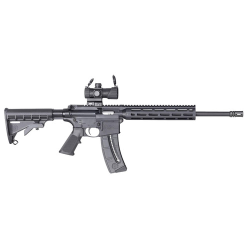"Smith & Wesson M&P15-22 Sport OR AR-15 22 (LR) 16.5"" 6-Position Stock M-Lok"