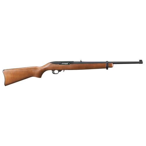 """Ruger 10/22 Carbine 22LR 18"""" Barrel Hardwood Stock 10rd"""