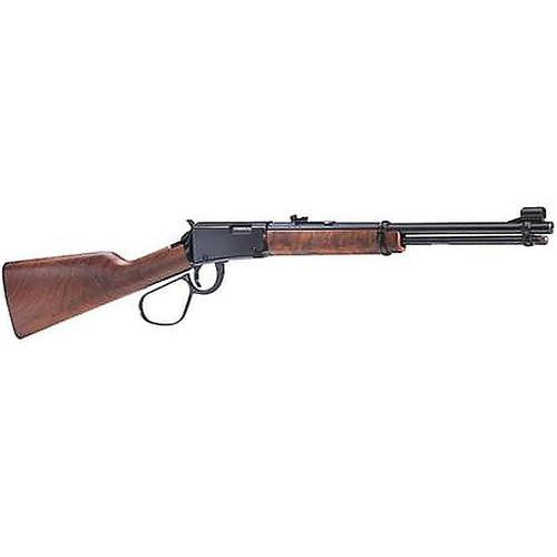 """Henry Lever Carbine Lever 22 S/L/LR 16.12"""" Barrel Walnut Stock Blue"""