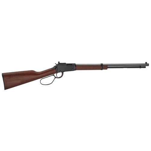 "Henry Small Game Rifle .22 Short/Long/Long Rifle 20"" Octagon Barrel Skinner's Sights Large Loop Lever American Walnut Stock 12rds"