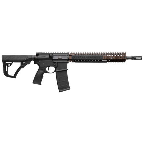 """Daniel Defense DDM4A1 Carbine 5.56/223 14.5"""" Barrel Flash Hider (16"""" Total) Flat Dark Earth 30rd"""