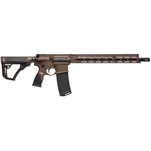 """Daniel Defense DDM4 V7 5.56mm Milspec+ 16"""" Barrel Dark Brown"""