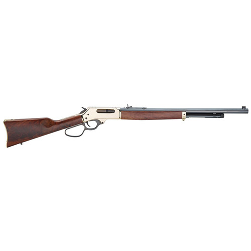 """Henry Repeating Arms Lever Action 45-70 22"""" barrel Blued Wood Stock"""