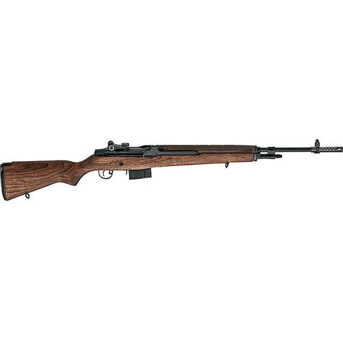 """Springfield M1A Standard SA 308 Win/7.62 22"""" Barrel Walnut Stock Blued 10rd Mag"""