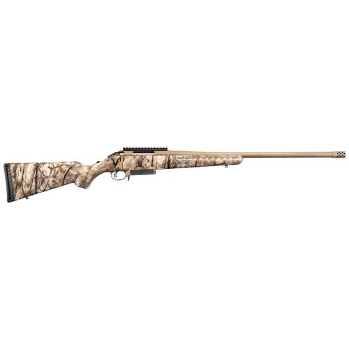 "Ruger American Rifle .450 Bushmaster 22"" GoWild IM Brush Camo Bronze Cerakote"