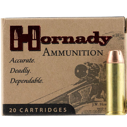 Hornady 9085 Custom 44 Remington Magnum 240 GR XTP Jacket Hollow Point 20 Box