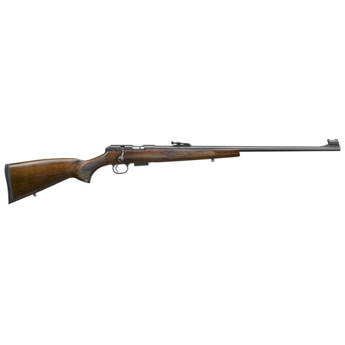 "CZ 457 Lux .22 LR 24.8"" Barrel 5rd European-Style Turkish Walnut Stock"