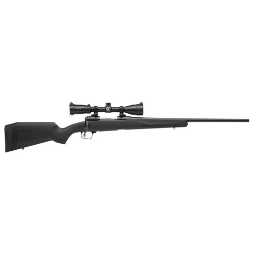 """Savage 10/110 Engage Hunter XP 300 Win Mag With 3X9X40 Scope 24"""" Barrel 3+1 Synthetic Black"""