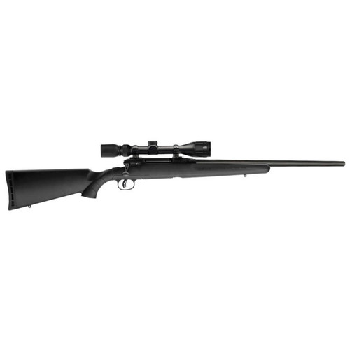SAVAGE AXIS II XP 243 WIN BOLT-ACTION RIFLE WITH 4-12X40MM SCOPE AND HEAVY BARREL 22136
