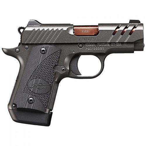"Kimber Micro 9 ESV 9mm 3.15"" Black TiN Rose Copper Barrel 7rd"