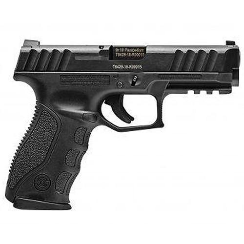 """Stoeger STR-9 9mm 4.17"""" Barrel Striker-Fired Black 1 15rd Mag & Medium Backstrap"""