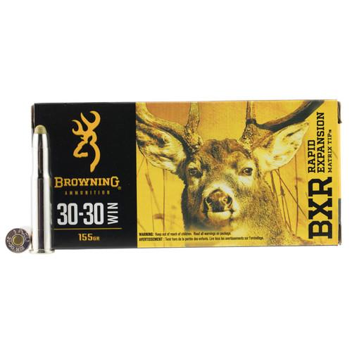Browning Ammo B192130301 BXR 3030 Winchester 155 GR Matrix Tip 20 Box