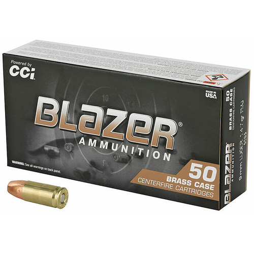 CCI 5203 Blazer Brass 9mm 147 GR FMJ 50 Rounds