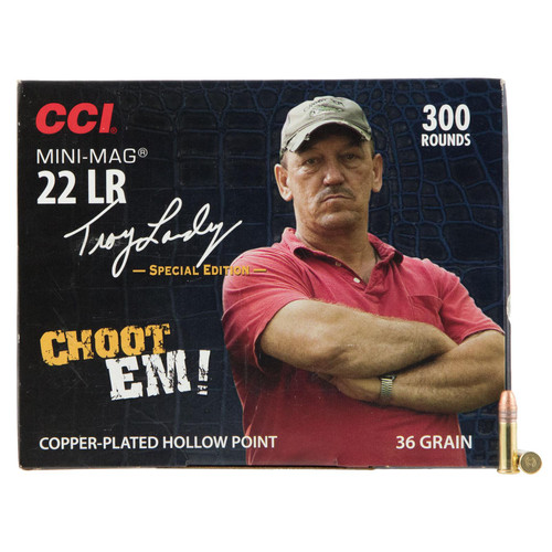 CCI 962 Varmint Signature MiniMag 22 Long Rifle LR 36 GR CopperPlated Hollow Point 300 Box