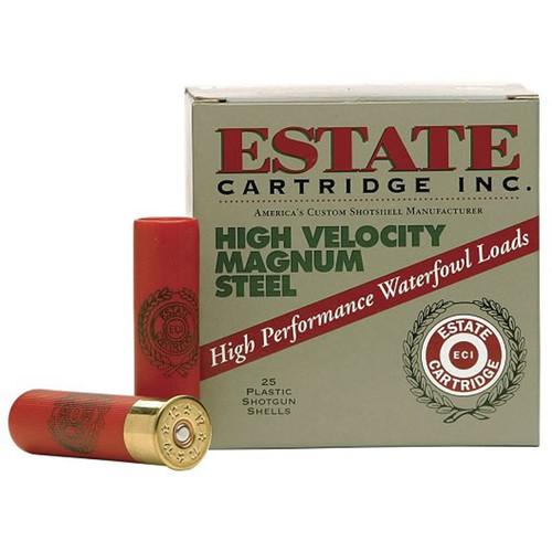 Estate HVST1235SF1 High Velocity 12 Gauge 3.5 1 38 oz 1 Shot 25 Box