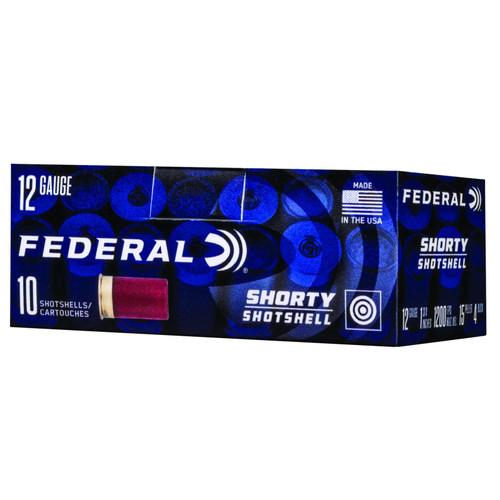 Federal SH1294B Shorty 12 Gauge 1.75 4 Buck Shot 10 Box