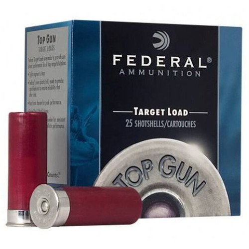 Federal TG128 Top Gun 12 Gauge 2.75 1 18 oz 8 Shot 25 Box