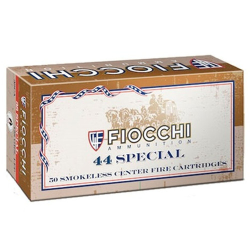 Fiocchi 44SCA Shooting Dynamics 44 Special 210 GR Lead Round Nose Flat Point 50 Box