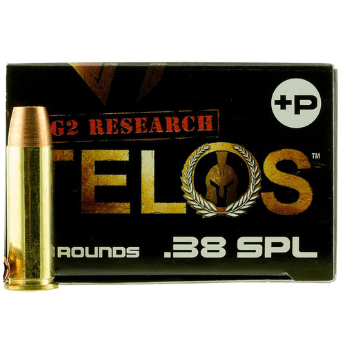 G2 Research TELOS 38SPL Telos 38 Special P 105 GR Copper Hollow Point 20 Box