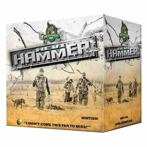 "Hevi-Shot Hevi-Hammer Ammunition 20 Gauge 25 Rounds 3"" #3 Shot 1 oz 1350 fps"