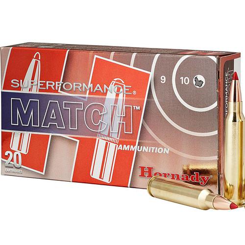 Hornady 80259 Superformance Match 223 Remington 73 GR ELDMatch 20 Box