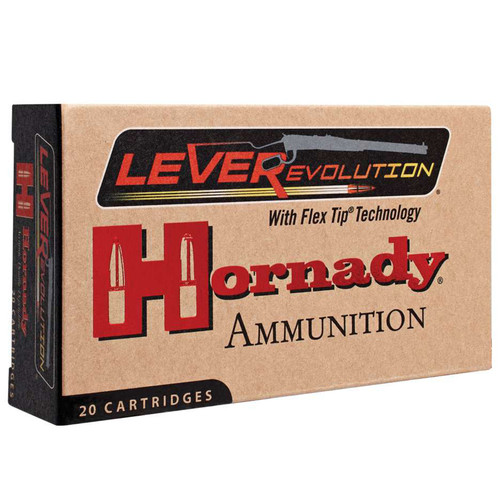 Hornady 82747 LEVERevolution 4570 Government 325 GR FTX 20 Rounds