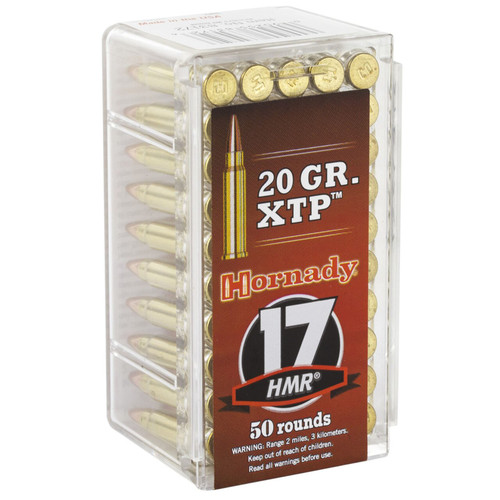 Hornady 83172 Varmint Express 17 HMR 20 GR Hollow Point XTP 50 Box
