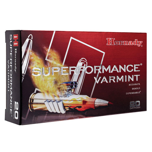 Hornady 83206 Superformance Varmint 204 Ruger 40 GR VMax 20 Box