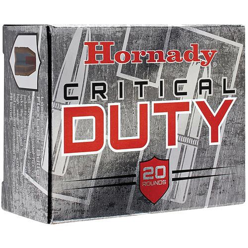 Hornady 91256 Critical Duty 10mm Auto 175 GR FlexLock 20 Box