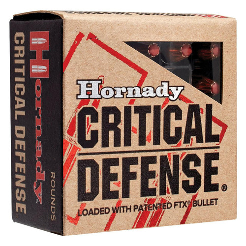 Hornady 92790 Critical Defense FTX 45 Colt LC 185 GR Flex Tip Expanding 20 Box