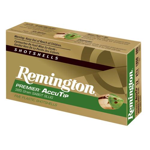 Remington Ammunition PRA12 Premier Accutip 12 Gauge 2.75 385 GR 5 Box