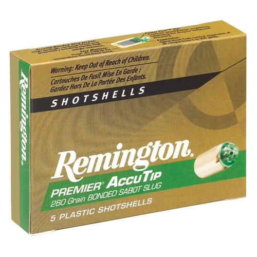 Remington Ammunition PRA20M Premier Accutip 20 Gauge 3 260 GR Sabot Slug Shot 5 Box