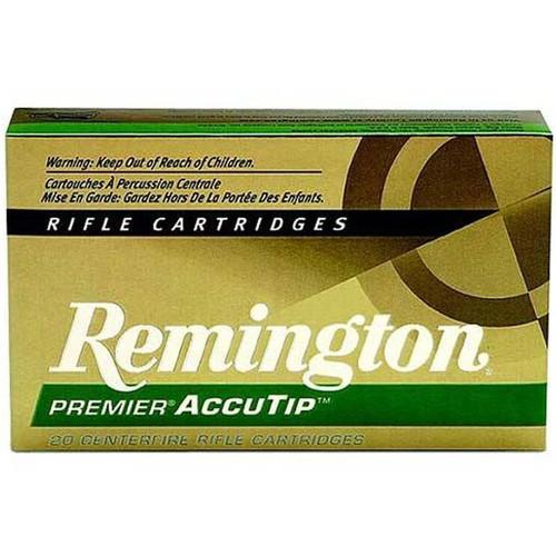 Remington Ammunition PRA222RB Premier AccutipV 222 Remington 50 GR AccuTipV Boat Tail 20 Box