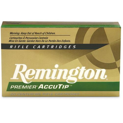 Remington Ammunition PRA243WA Premier Accutip 243 Winchester 95 GR AccuTip 20 Box