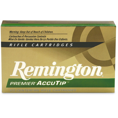 Remington Ammunition PRA308WB Premier Accutip 308 Win7.62 NATO 165 GR AccuTip Boat Tail 20 Box