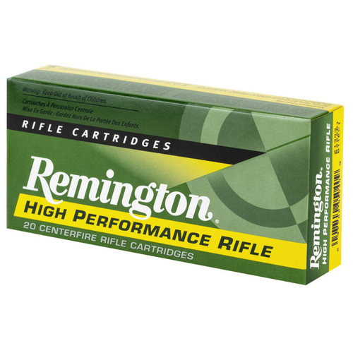 Remington Ammunition R22501 High Performance 22250 Remington 55 GR Pointed Soft Point PSP 20 Box