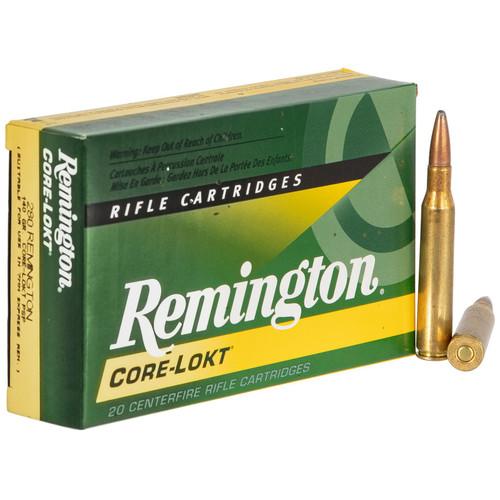 Remington Ammunition R280R3 CoreLokt 280 Remington 140 GR CoreLokt Pointed Soft Point 20 Box