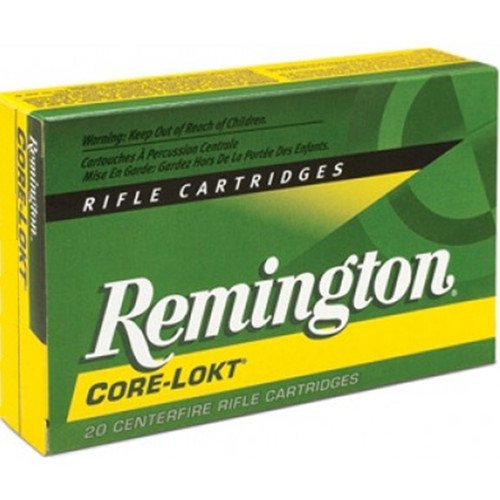 Remington Ammunition R308W2 CoreLokt 308 Win7.62 NATO 180 GR CoreLokt Soft Point 20 Box