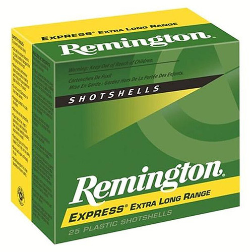 Remington Ammunition SP124 Express XLR 12 Gauge 2.75 1 14 oz 4 Shot 25 Box
