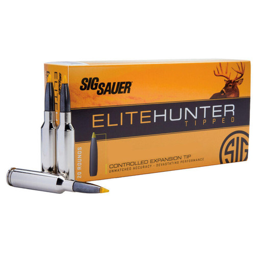 Sig Sauer Elite Hunting Tipped .30-06 Springfield Ammunition 20 Rounds 165 Grain Polymer Tipped Projectile 2950 fps