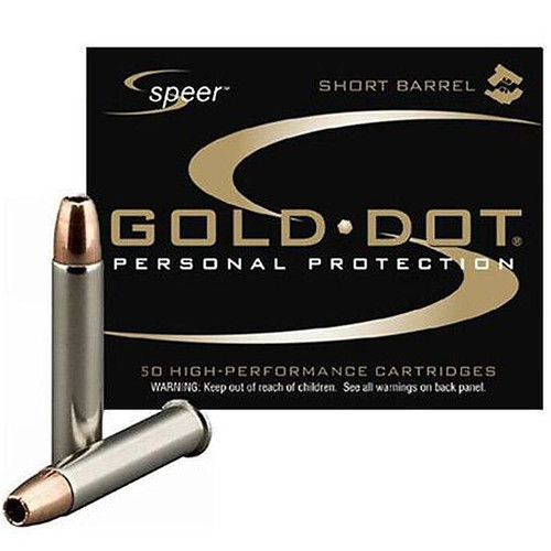 Speer Ammo 954 Gold Dot Short Barrel 22 WMR 40 GR Hollow Point HP 50 Box