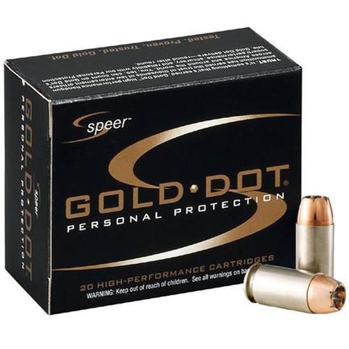 Speer Gold Dot .45 ACP +P 200 Grain JHP 20 Round Box