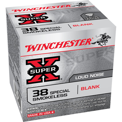 Winchester Ammo 38SBLP SuperX Smokeless 38 Special 50 Box