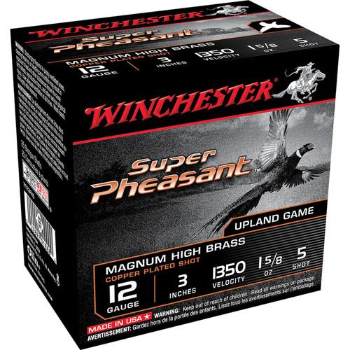 Winchester Ammo X123PH5 Super Pheasant Magnum High Brass 12 Gauge 3 1 58 oz 5 Shot 25 Box