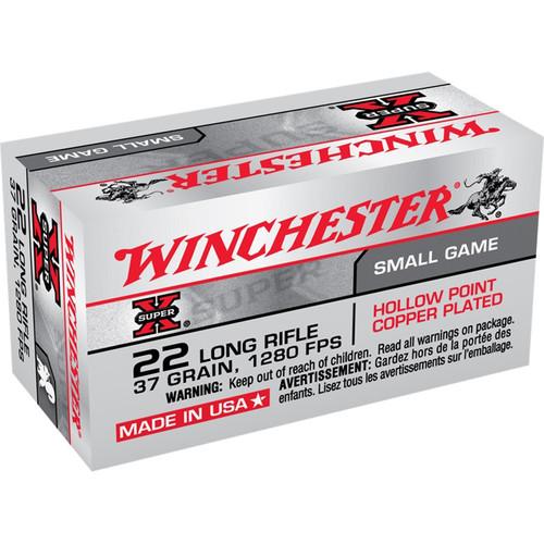 Winchester X22LRH SuperX 22LR 37 GR HP 50 Rounds