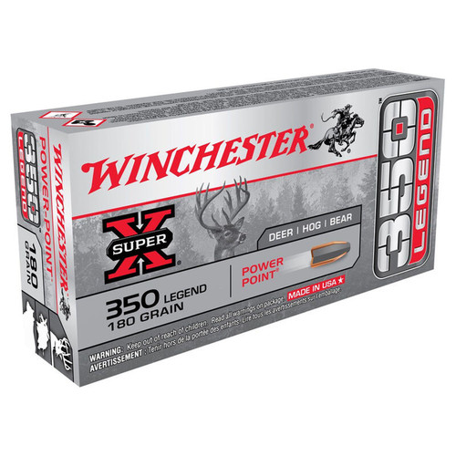Winchester Ammo X3501 SuperX 350 Legend 180 GR PowerPoint 20 Box