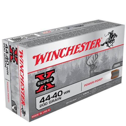 Winchester Ammo X4440 SuperX 4440 Winchester 200 GR PowerPoint PP 50 Box