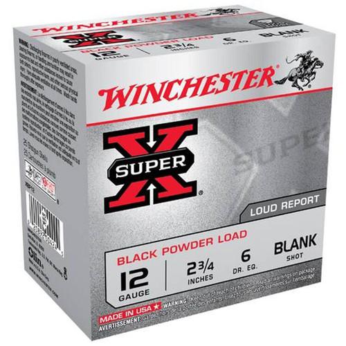 Winchester Ammo XBP12 SuperX Black Powder Load 12 Gauge 2.75 25 Box